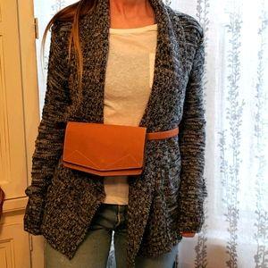 Fresh Marled World Traveler's Knit Cardigan